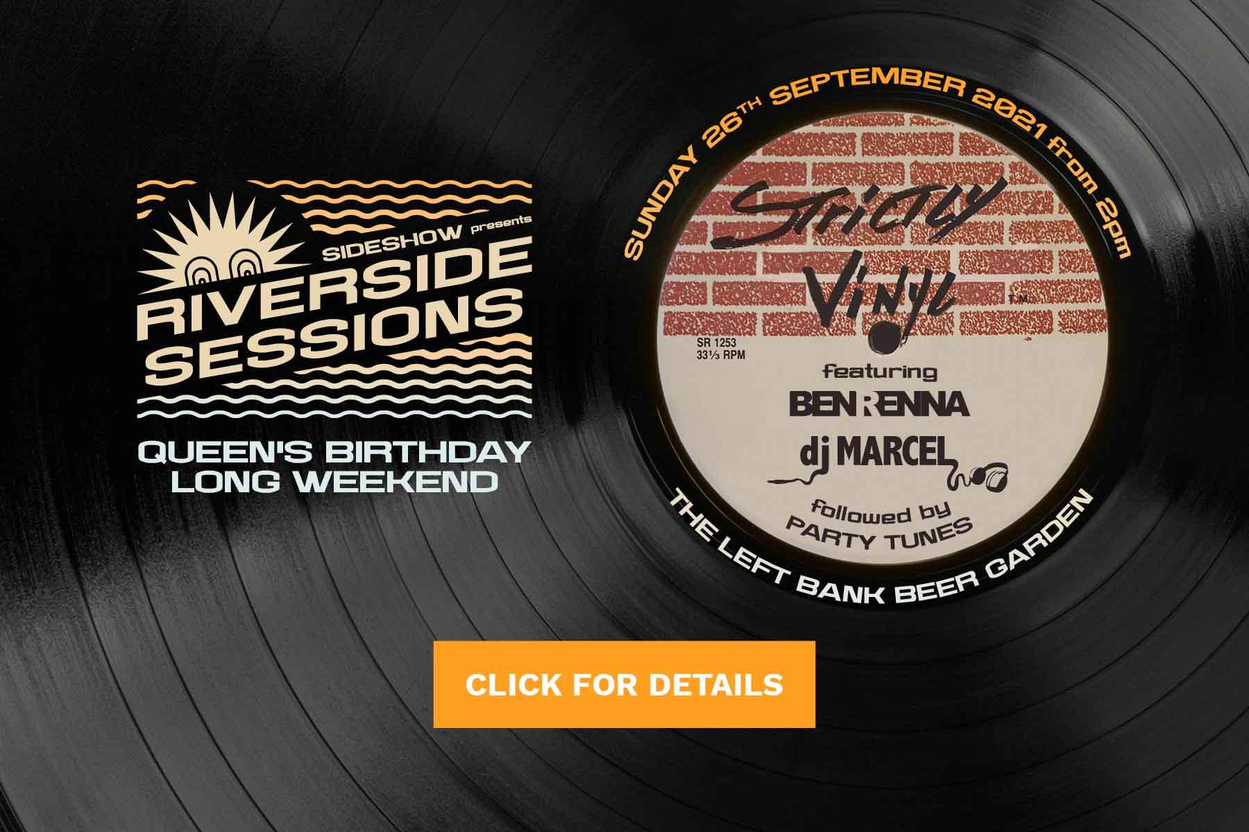 Riverside Session - Queen's Birthday 2021